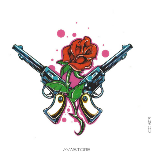 image tatouage guns and roses