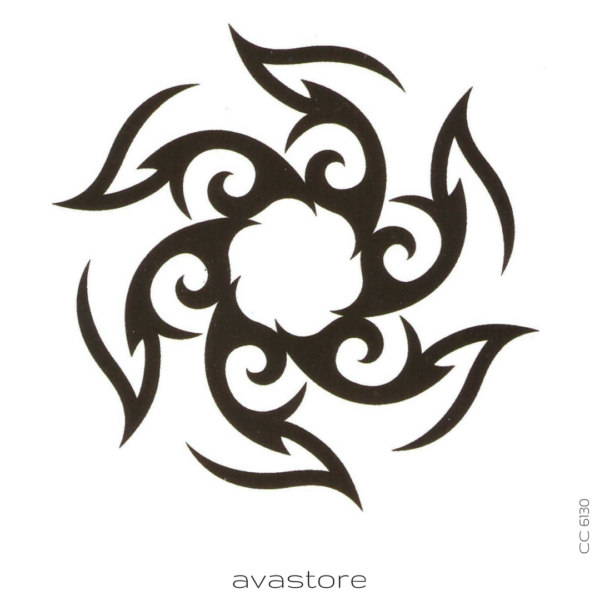 image tatouage maori soleil