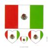 image tatouage drapeau italien
