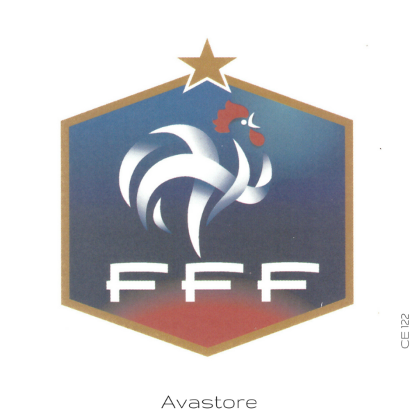 image tatouage france football