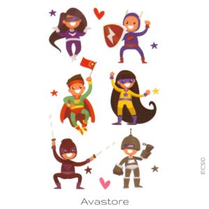 mini super héros