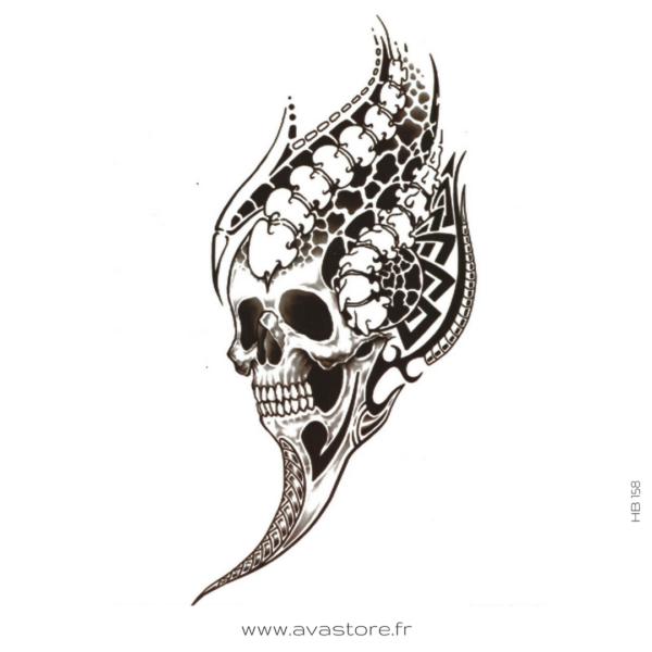 photo du tatouage démon