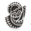 photo du tatouage tribal poitrine