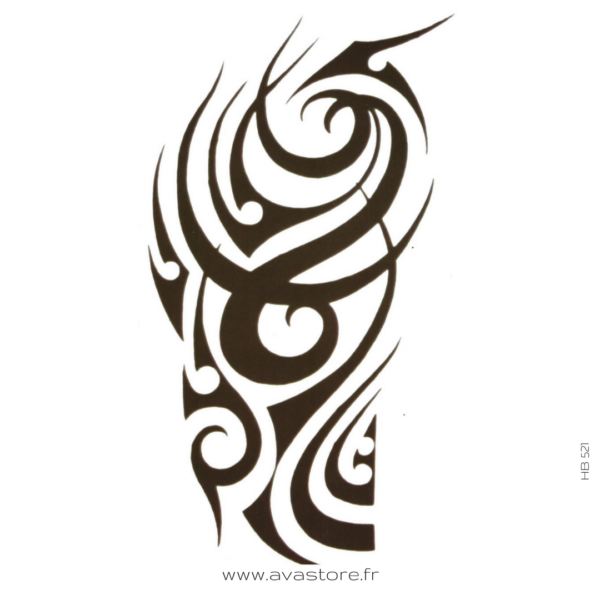 Tatouage temporaire Tribal Mollet