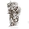 photo du tatouage tribal