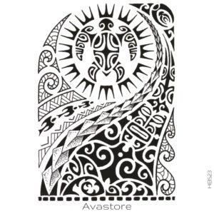 photo du tatouage pacifique