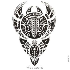 photo du tatouage Tahiti