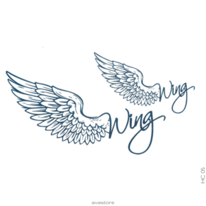 Tatouage temporaire Angel Wing