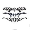 image tatouage oiseau tribal