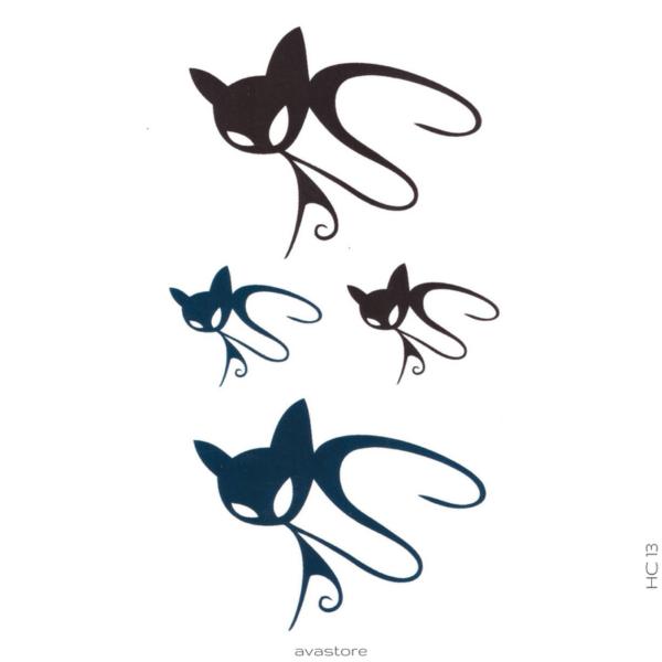 image tatouage cats