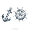 image tatouage marin
