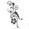image tatouage brin fleuri