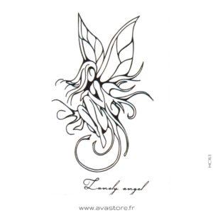 image du tatouage fée