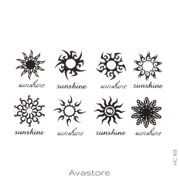 image tatouage sunshine