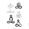 image tatouage yoga
