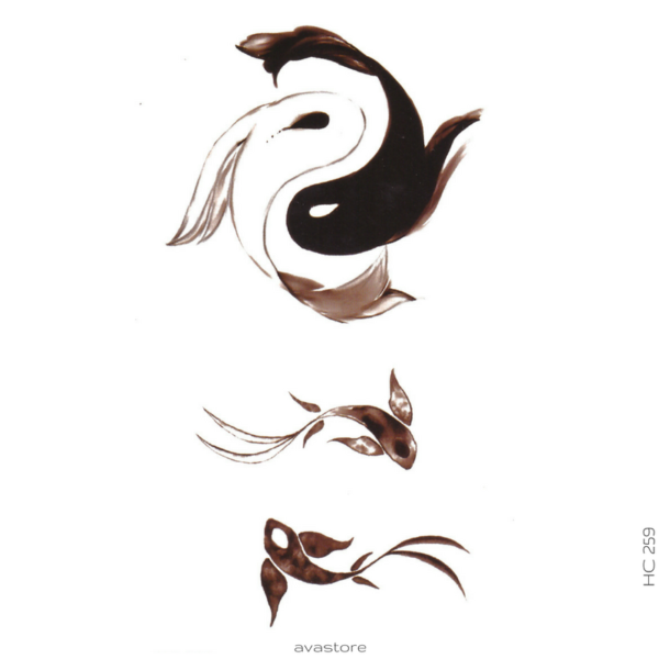 image tatouage yin et yang