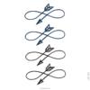 image tatouage boucle cupidon