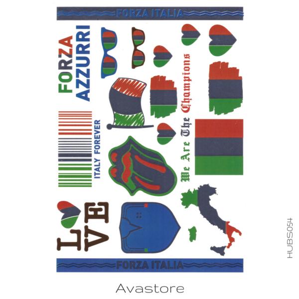 image tatouage italie supporter
