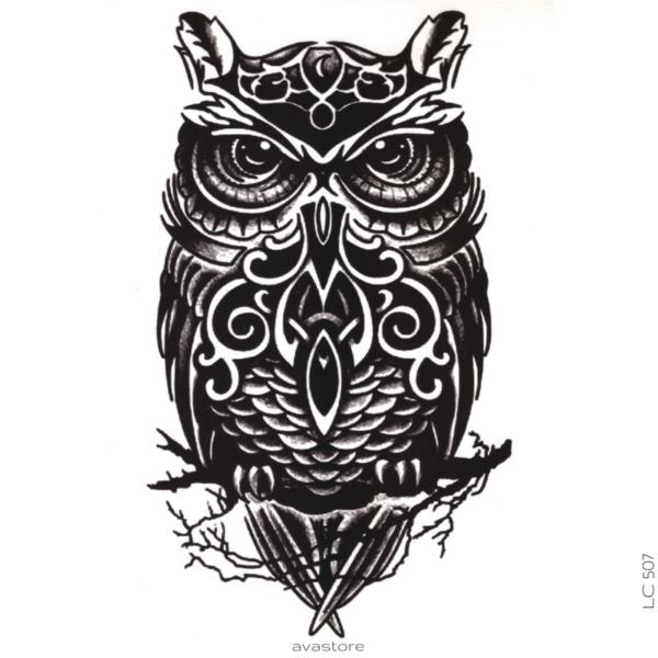 image tatouage chouette