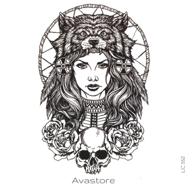 image tatouage femme ours