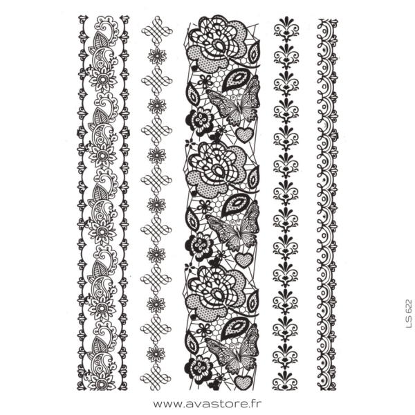 image du tatouage bracelet oriental