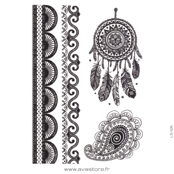 image tatouage rêve oriental