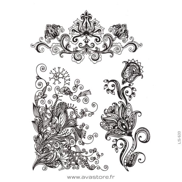 image tatouage henné