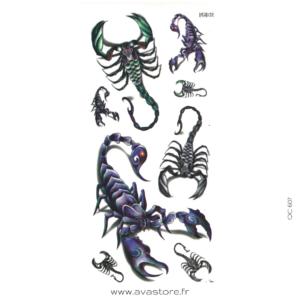 scorpion 3d
