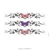 photo du tatouage bracelet papillon