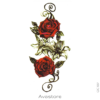 image tatouage roses rouge