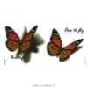 image tatouage papillon 3d