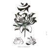 image tatouage lotus