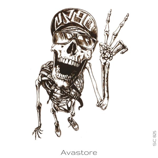 image tatouage squelette