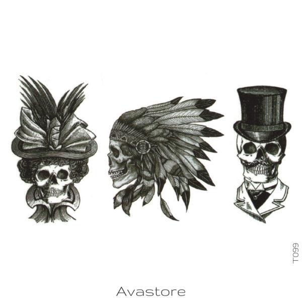 photo du tatouage western