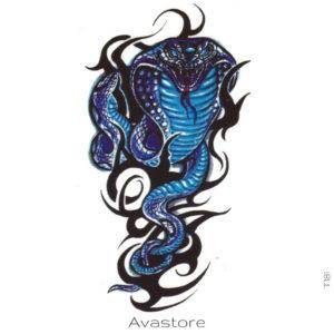 cobra bleu