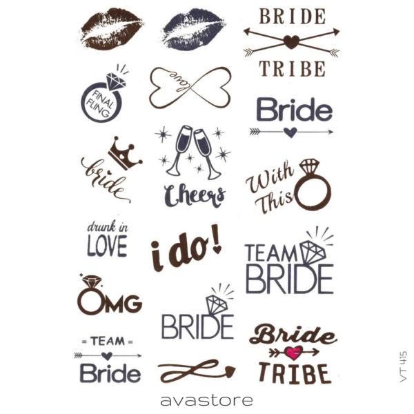 image tatouage team bride