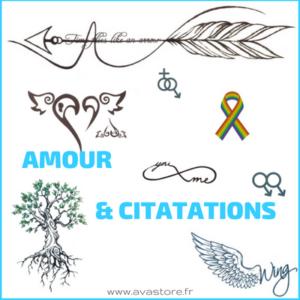 Amour & Citations