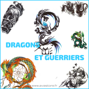 Dragons & guerriers
