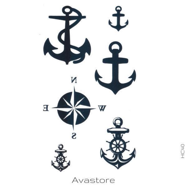 image tatouage navire
