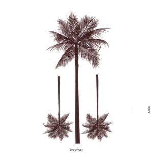 tatouage temporaire palmier
