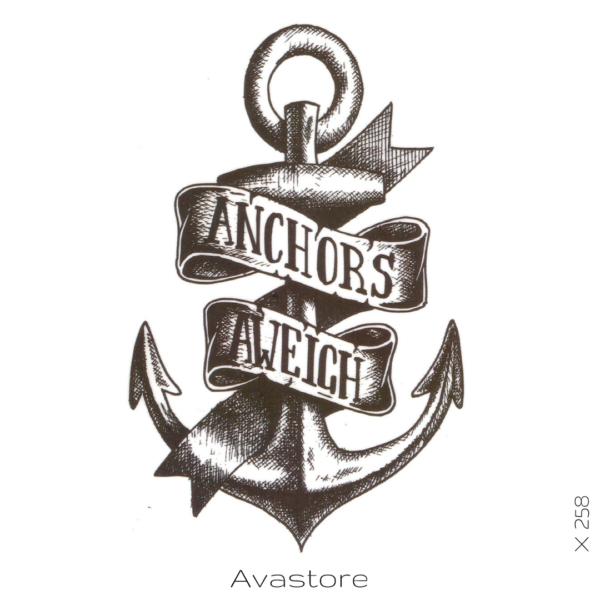 image tatouage ancre