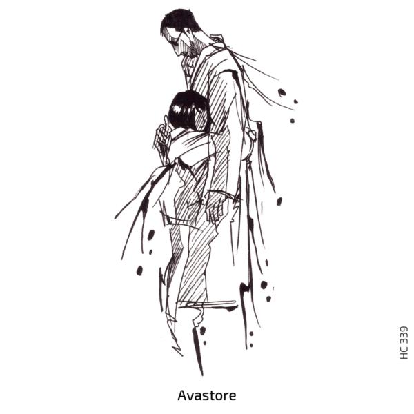 image du tatouage temporaire manga