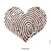 image tatouage temporaire coeur empreinte