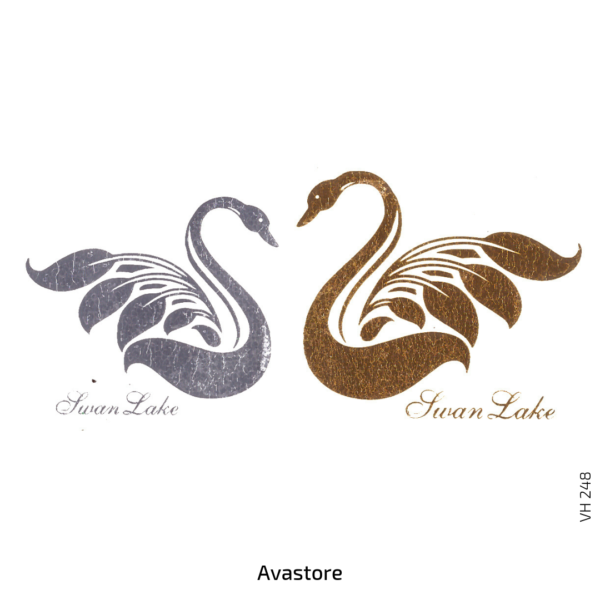 image tatouage temporaire cygnes