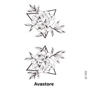 Fleur et Triangle