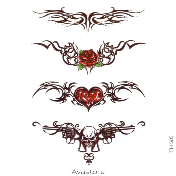 tatouage temporaire death