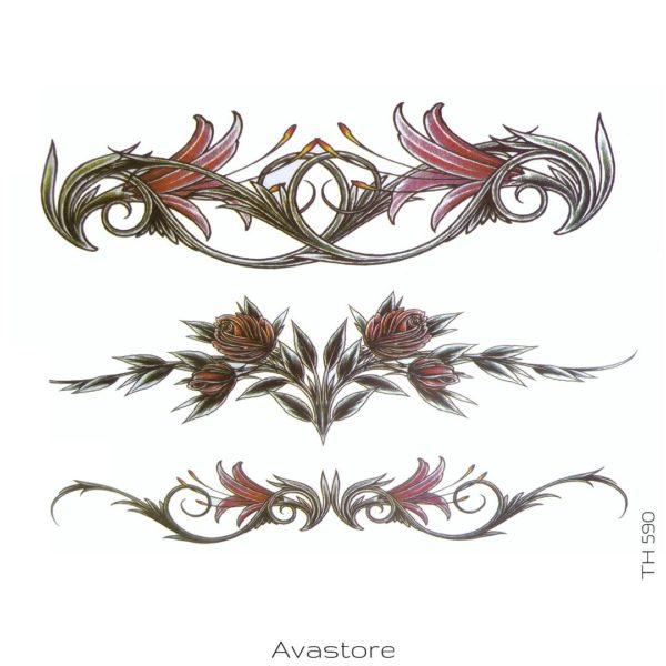 tatouage temporaire trio