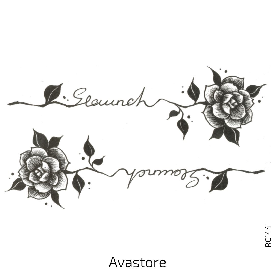 tatouage temporaire Rose Geaunch